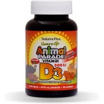 Animal Parade Vitamin D3 Kids 90 tabs...