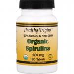 Organic Spirulina 500 mg 180 tabs