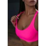 Топ Neon Swimsuit Split Pink