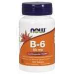 B 6 50 mg 100 tabs
