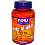 Beta Alanine 750 mg 120 caps