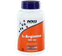 L Arginine 500 mg 100 caps Now