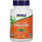 Now Chlorella 500mg 200 tabs
