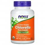 Now Chlorella Pure Powder 113 gr