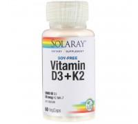 Vitamin D3 K2 60 caps