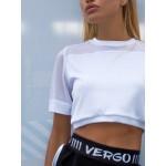 Футболка Vergo Air Crop White