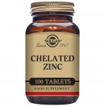 CHELATED ZINC 100 tabs Solg