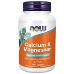 Calcium and Magnesium 100 tabs Now