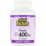 Clear Vitamin E 268mg 60 caps NF