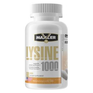 LYSINE 1000 mg 60 tabs MXL