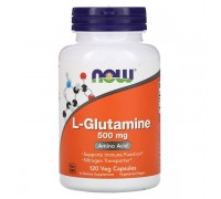 Now L Glutamine 500mg 120 caps