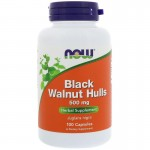 Black Walnut Hulls 100 caps