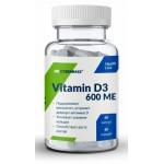 CYB Vitamin D3 600 ME 60 caps