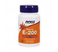Natural Vitamin E 200 100 caps Now