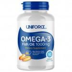 Uniforce Omega 3 Fish Oil 1000mg 90 caps...